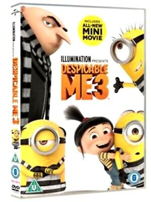 Despicable Me 3 [DVD] (2017) New & Sealed Region 2 UK Fast Shipping