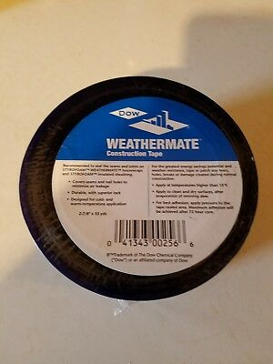 1X   Dow Weathermate Construction Tape  2-7/8 X 55 yds. New!