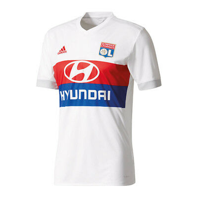 Adidas Olympique Lyon Home Jersey 2017/2018 White