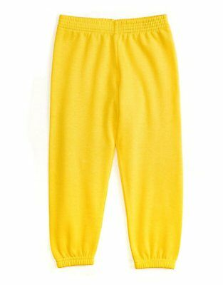 Leveret Soft Cozy Yellow Boys Girls Sweatpants (Size 2 Toddler - 14 Years)