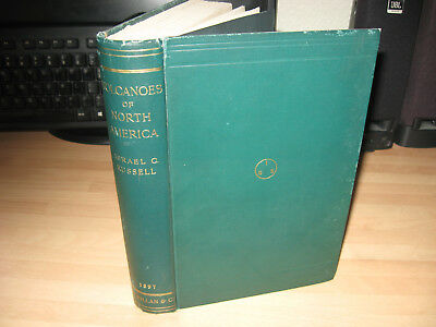 Israel C Russell - Volcanoes of North America 1897 1st rare geology plates maps