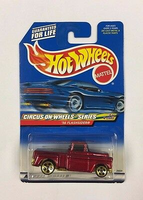 Hot Wheels Circus On Wheels Series '56 Flashsider  (T14)