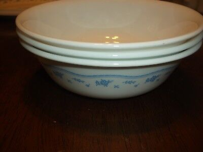 corelle by corning,set of 3 cereal/salad bowls