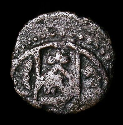 600-1200AD Byzantine Copper Coin 19mm 2.45g