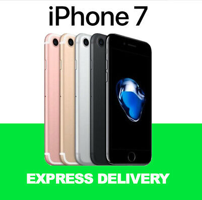 APPLE BOX iPhone 7 32GB 128GB 256GB Unlocked Smartphone