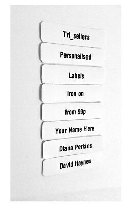 Value Printed iron-on School Name Tags Name Tapes Labels * Quality School Labels