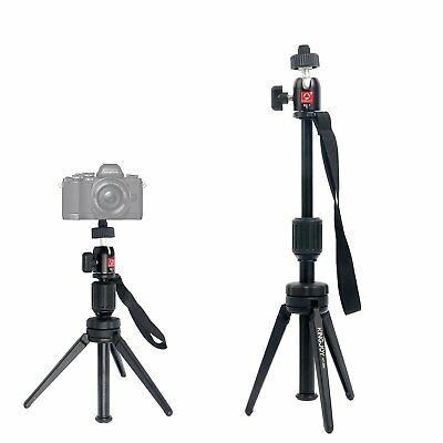 Mini Flexible Tripod Desktop Stand W/ Ballhead for Action Camera DSLR SLR Phone