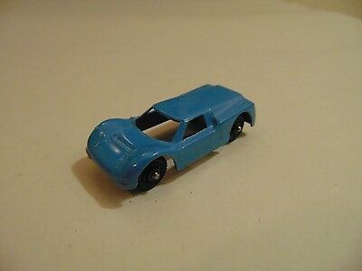 Vintage TootsieToy Blue Ford GT Race Car Diecast