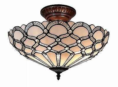 Ceiling Light Lights Fixture Lighting Tiffany Style Decorative Hallway Entryway