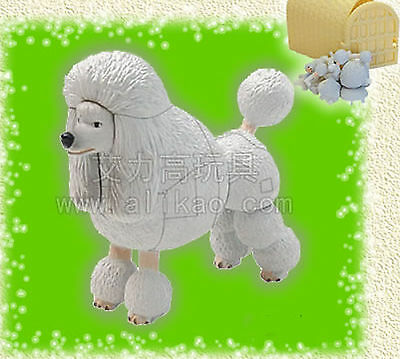 4D Animal Puzzle Toy Assembly Poodle Dog #B-65