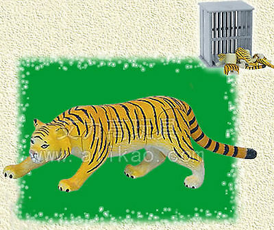 4D Animal Puzzle Toy Assembly Mini Tiger #B-104