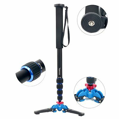 65 Inch Monopod Tripod Holder 1/4 3/8 Quick Release Leg Lock High Quality YaeCCC