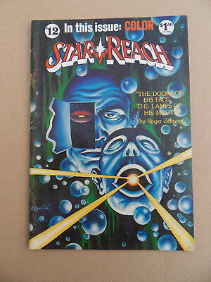 Star Reach 12 . R.Zelazny / F.Brunner Cover . Star Reach Publ . 1978 . FN +