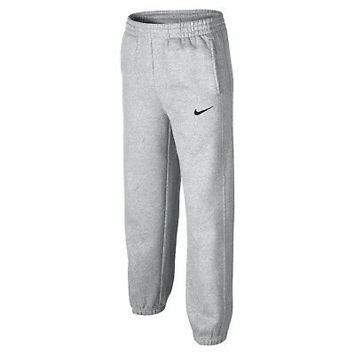 Junior's Nike Grey Fleece Jogging Bottoms