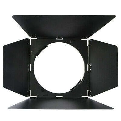 Haoge 4 Leaf Barndoor Barndoors Set for Broncolor P70 Standard Reflector