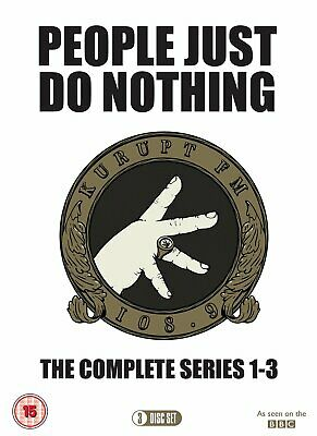 People Just Do Nothing - Series 1-3 (DVD)
