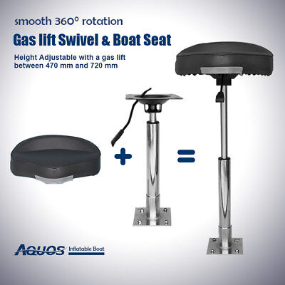 Parts & Accessories Swivl-Eze By Attwood Seat Mount And Pedestal For