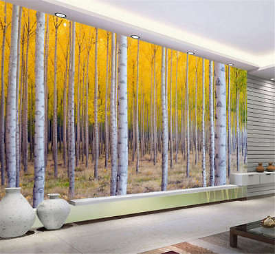 Slim Quiet Branch 3D Full Wall Mural Photo Wallpaper Printing Home Kids Decor