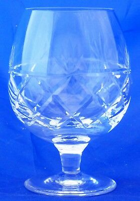 "A Royal Brierley Crystal 'bruce' 4 7/8"" Brandy Glass"