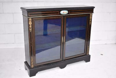 Victorian Ebonised Pier Cabinet / Bookcase