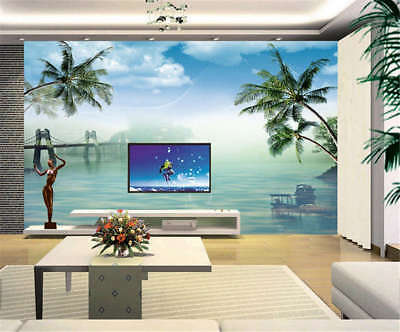 Excessive Moist Sea 3D Full Wall Mural Photo Wallpaper Printing Home Kids Decor