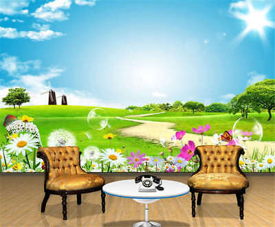 Sunny Liberal Ground 3D Full Wall Mural Photo Wallpaper Printing Home Kids Decor