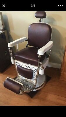 antique barber chairs for sale 1926 Emil Paidar