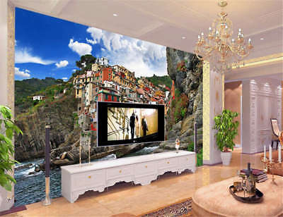 Horrible Slack Cliff 3D Full Wall Mural Photo Wallpaper Printing Home Kids Decor