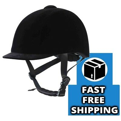 RIF ARION Horse Riding Hat/Helmet Black ALL SIZES **FREE P&P**