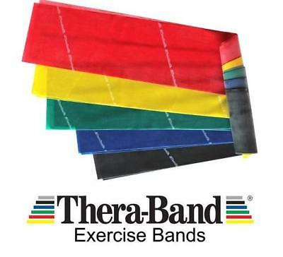 Theraband Thera-Band Resistance Bands, Nhs Exercise Pilates Yoga Physio