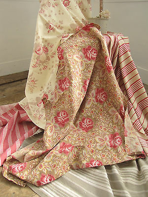 Antique French fabric Coordinating Scatter cushion fabrics materials  ~ LOVELY~