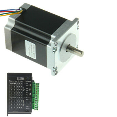 Nema 23 Stepper Motor w/ Driver TB6600 kit 1.9 N.m