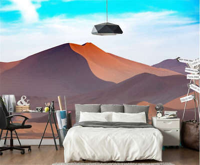 Plain Sandy Realm 3D Full Wall Mural Photo Wallpaper Printing Home Kids Decor