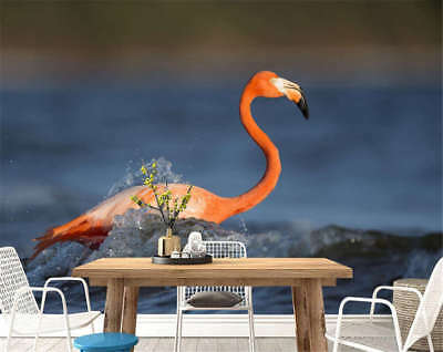 Cute Concise Goose 3D Full Wall Mural Photo Wallpaper Printing Home Kids Decor