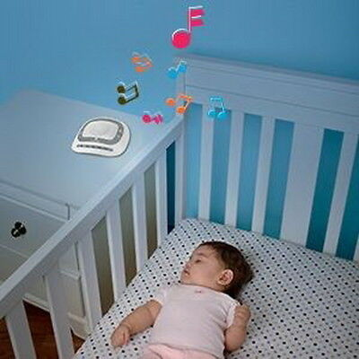 Baby Sleeping Sound Spa Noise Machine Play 6 Sound Adjustable Volume Lightweight