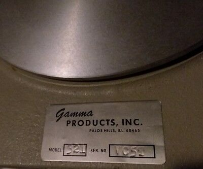 NOS ..... Gamma Products Inc. Chamber and probe detector 321