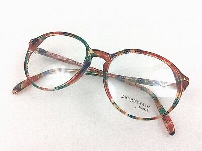 Vintage Eyewear - Jacques Fath 93430 / 50-18 glasses frames - Hand made in Paris
