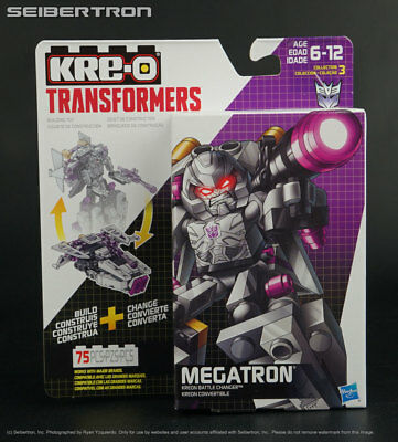 Transformers Kre-O #B2690 Shockwave Kreon Battle Changer Collection 2 New NIB