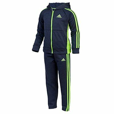 Adidas Boys Tracksuit Active 2 Piece Pants and Jacket Set Size 7