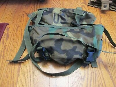 US Army MOLLE II Patrol Pack Woodland 3 Day Pack NSN 8465-01-465-2088! COOL!!!!