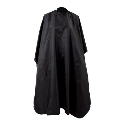 Pro Black Wholesale Salon Hair Cut Hairdressing Barbers Cape Black Gown New X6O1