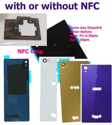 Rear Battery Back Cover OEM For Sony Xperia Z3 L55 D6603 D6653 With/out NFC