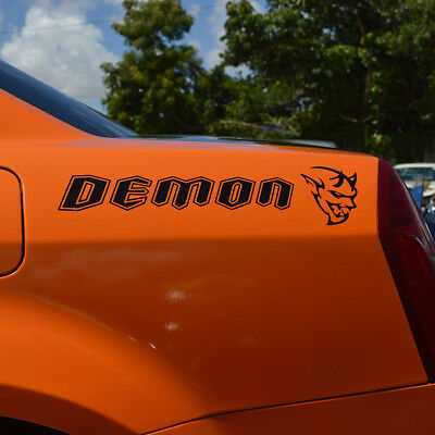 Dodge Challenger SRT Demon vinyl decal sticker auto car truck side