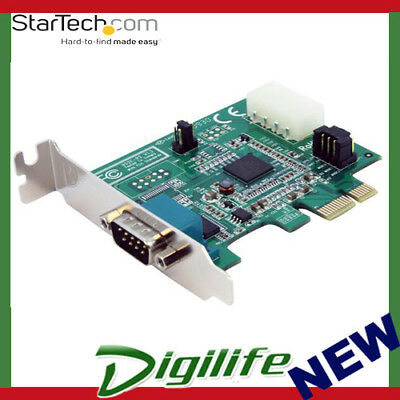 STARTECH 1 Port Low Profile Native PCI Express Serial Card w/ 16950