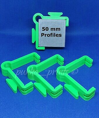 External Line Holder Clips set 4 Brick laying wall Building blakes Profiles v.g