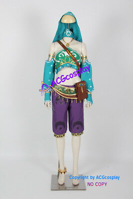 Legend of Zelda Breath of the Wild Link Cosplay Costume Gerudo costume