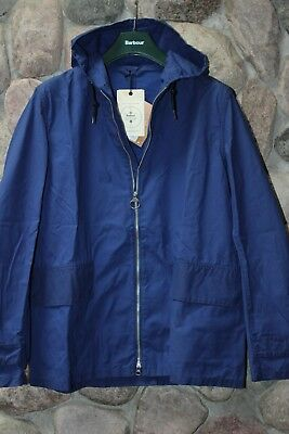 Barbour Norton & Sons Seaboard Jacket Navy Blue MCA0214BL71  L Large