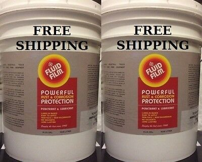 Fluid Film Nas 5 Gallon Pail, Bundle Of (2) Only $329.89 With Free Shipping!