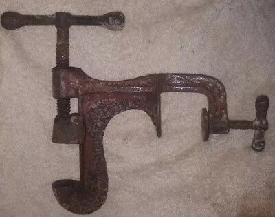 Scarce Antique ~made in 1912~ Cast Iron ~ Perfection Nut Cracker ~ Waco TX