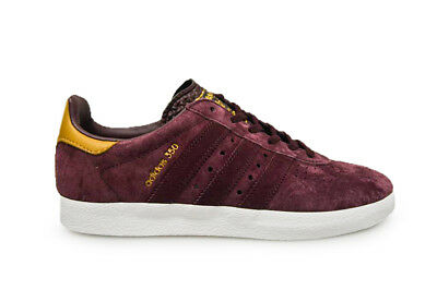MENS ADIDAS 350 BB5289 Maroon Red Trainers $85.44